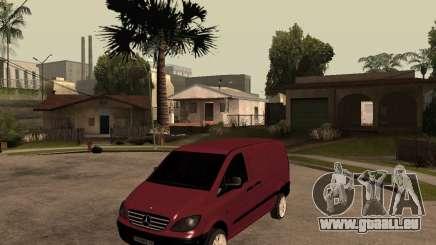 Mercedes-Benz Vito 2009 pour GTA San Andreas