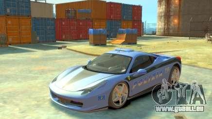 Ferrari 458 Italia Police pour GTA 4