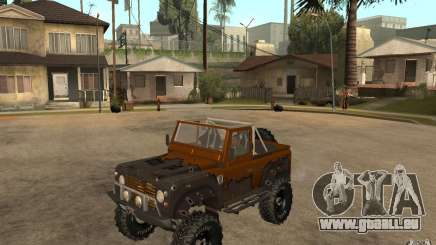 Land Rover Defender Extreme Off-Road pour GTA San Andreas