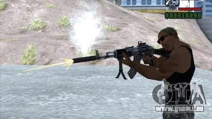 AK-103 von WARFACE für GTA San Andreas