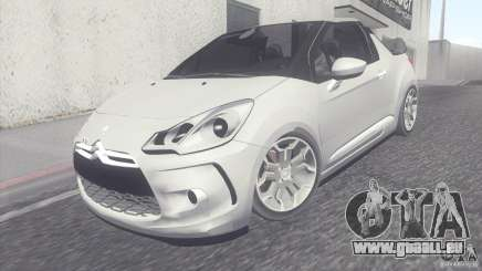 Citroen DS3 Convertible pour GTA San Andreas