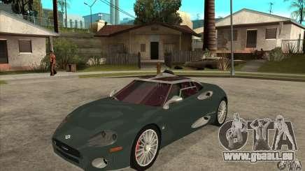 Spyker C8 Laviolete für GTA San Andreas