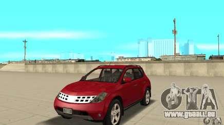 Nissan Murano 2004 pour GTA San Andreas
