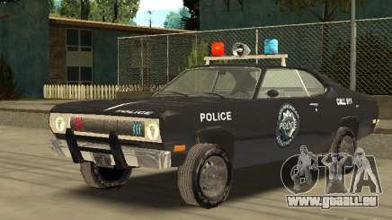 Plymout Duster 340 POLICE v2 pour GTA San Andreas