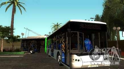 Trolleybus LAZ E301 pour GTA San Andreas
