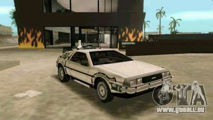 BTTF DeLorean DMC 12 für GTA Vice City