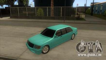 Mercedes-Benz S600 Limo pour GTA San Andreas