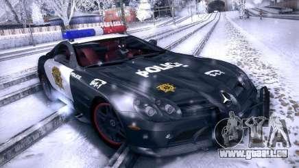 Mercedes-Benz SRL 722 Police pour GTA San Andreas