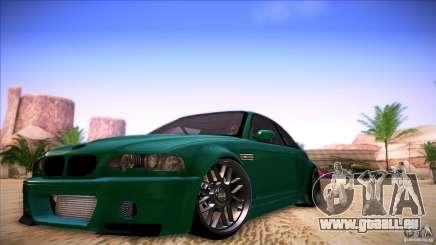 BMW E46 Drift II für GTA San Andreas