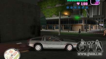 Delorean DMC-12 pour GTA Vice City