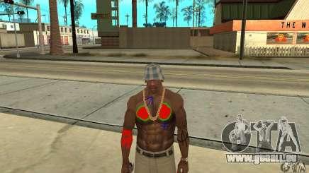 Tatouage cool à CJ-j'ai sur le corps pour GTA San Andreas