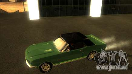 Shelby GT500KR convertible 1968 pour GTA San Andreas