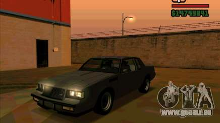 Buick GNX 1987 pour GTA San Andreas