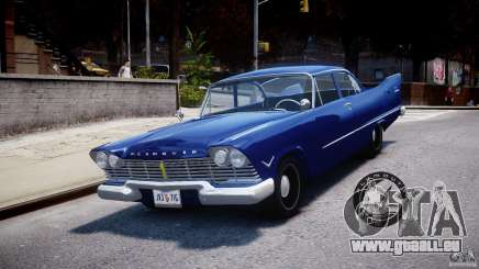 Plymouth Savoy Club Sedan 1957 pour GTA 4