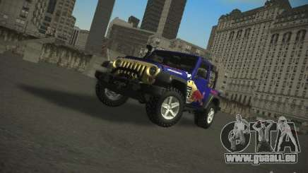 Jeep Wrangler Red Bull 2012 pour GTA San Andreas