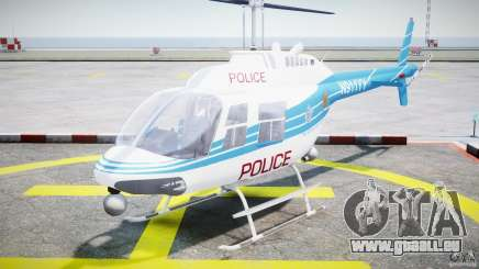 Bell 206 B - Chicago Police Helicopter für GTA 4