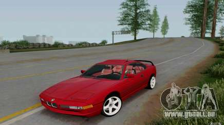 BMW 850i v2.0 Final pour GTA San Andreas