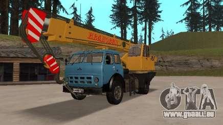 MAZ KS3577-4-1 Ivanovets pour GTA San Andreas