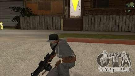 M4 Drum Magazine für GTA San Andreas