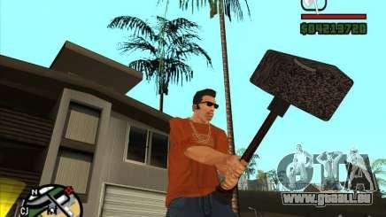 Marteau de WarCraft III pour GTA San Andreas