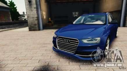 Audi RS4 Avant 2013 v2.0 pour GTA 4