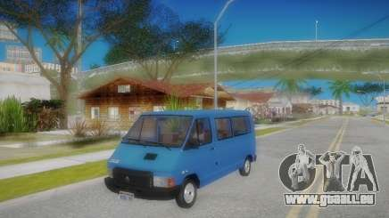 Renault Trafic T1000D Minibus pour GTA San Andreas