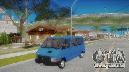 Renault Trafic T1000D Minibus für GTA San Andreas