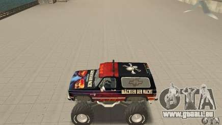 Chevrolet Blazer K5 Monster Skin 5 für GTA San Andreas
