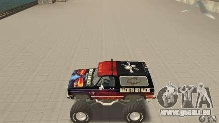 Chevrolet Blazer K5 Monster Skin 5 pour GTA San Andreas