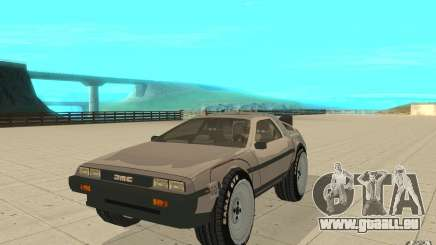 DeLorean DMC-12 (BTTF1) für GTA San Andreas
