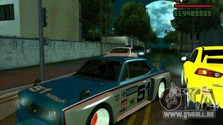 Nissan Skyline 2000gtr für GTA San Andreas