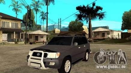 Toyota Land Cruiser 100 pour GTA San Andreas