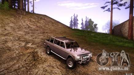 GAZ 2402 4 x 4 pick-up pour GTA San Andreas