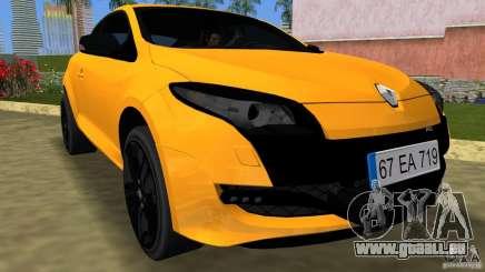 Renault Megane 3 Sport pour GTA Vice City
