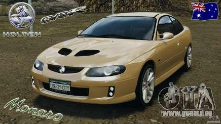 Holden Monaro CV8-R für GTA 4