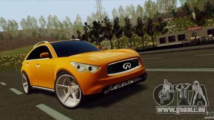 Infiniti FX37 pour GTA San Andreas