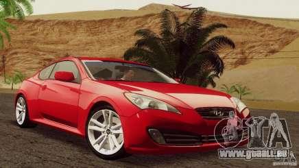 Hyundai Genesis Tunable für GTA San Andreas