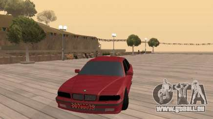 BMW 750iL e38 diplomate pour GTA San Andreas