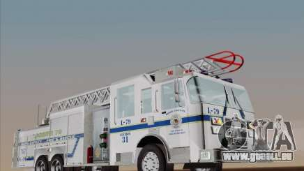 Pierce Puc Aerials. Bone County Fire & Ladder 79 pour GTA San Andreas