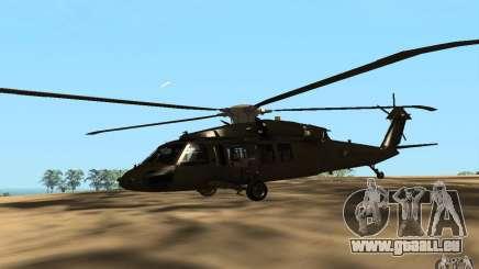 UH-60 Silent Hawk pour GTA San Andreas