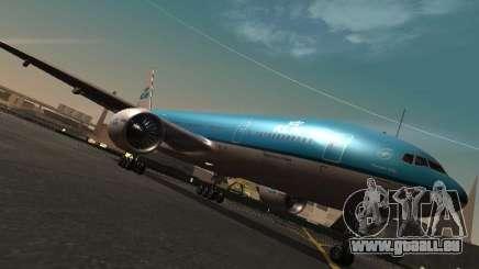 Boeing 777-200 KLM Royal Dutch Airlines pour GTA San Andreas