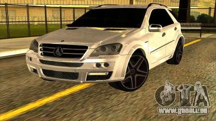 Mercedes-Benz ML63 AMG W165 Brabus für GTA San Andreas