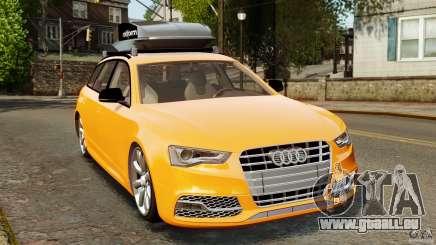 Audi A6 Avant Stanced 2012 v2.0 pour GTA 4