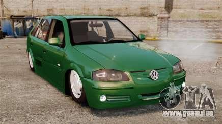 Volkswagen Gol G4 Edit für GTA 4