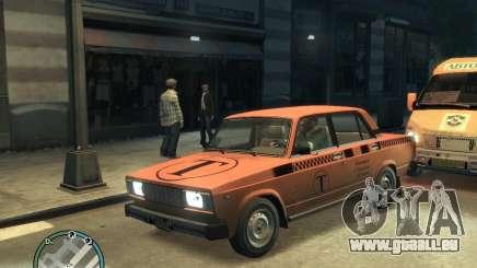 VAZ 2105 Taxi pour GTA 4