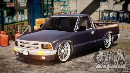 Chevrolet S10 1996 Draggin [Beta] pour GTA 4