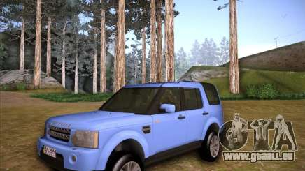 Land Rover Discovery 4 pour GTA San Andreas