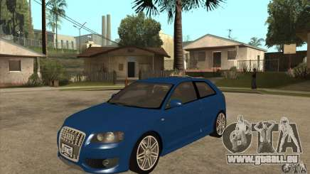 Audi S3 2007 - Stock pour GTA San Andreas