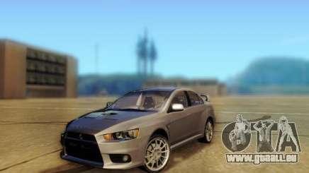 Mitsubishi Lancer Evolution X pour GTA San Andreas