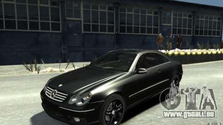 Mercedes-Benz CLK55 AMG 2003 v1 für GTA 4